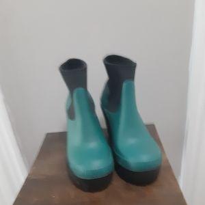 Hunter Platform short boots size 7